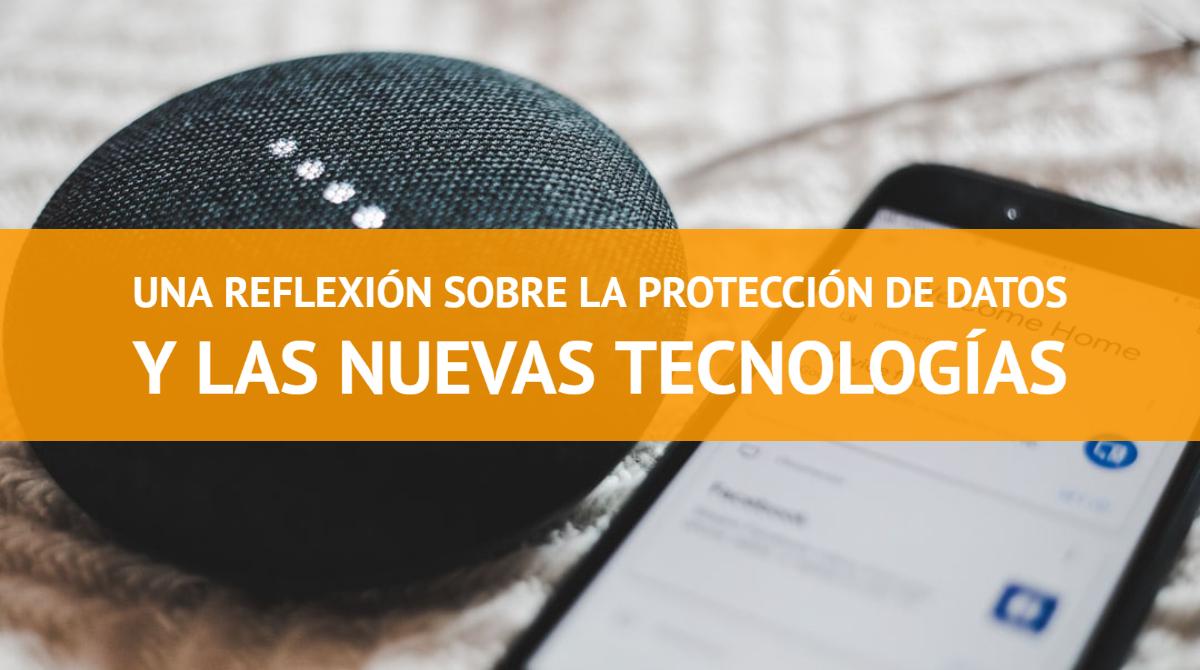 Protección de datos y nuevas tecnologías